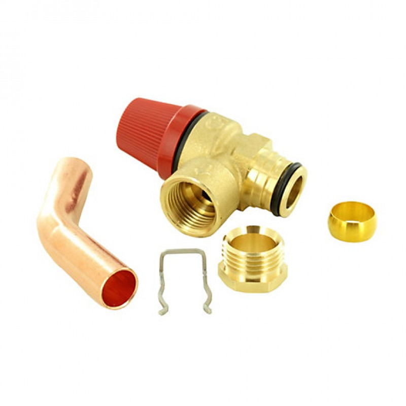 Relief Valve Piping : Remeha prv